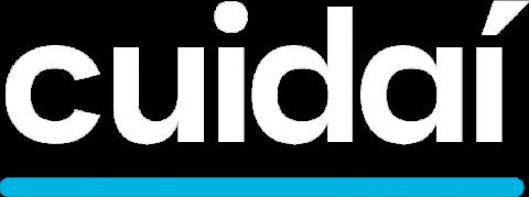 Logo branco Cuidaí