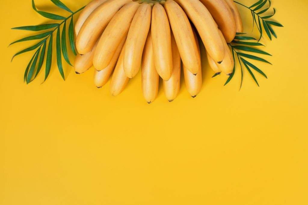 chá de banana é carboidrato frutas