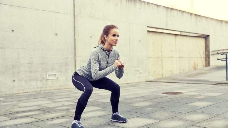 exercícios para pernas agachamento
