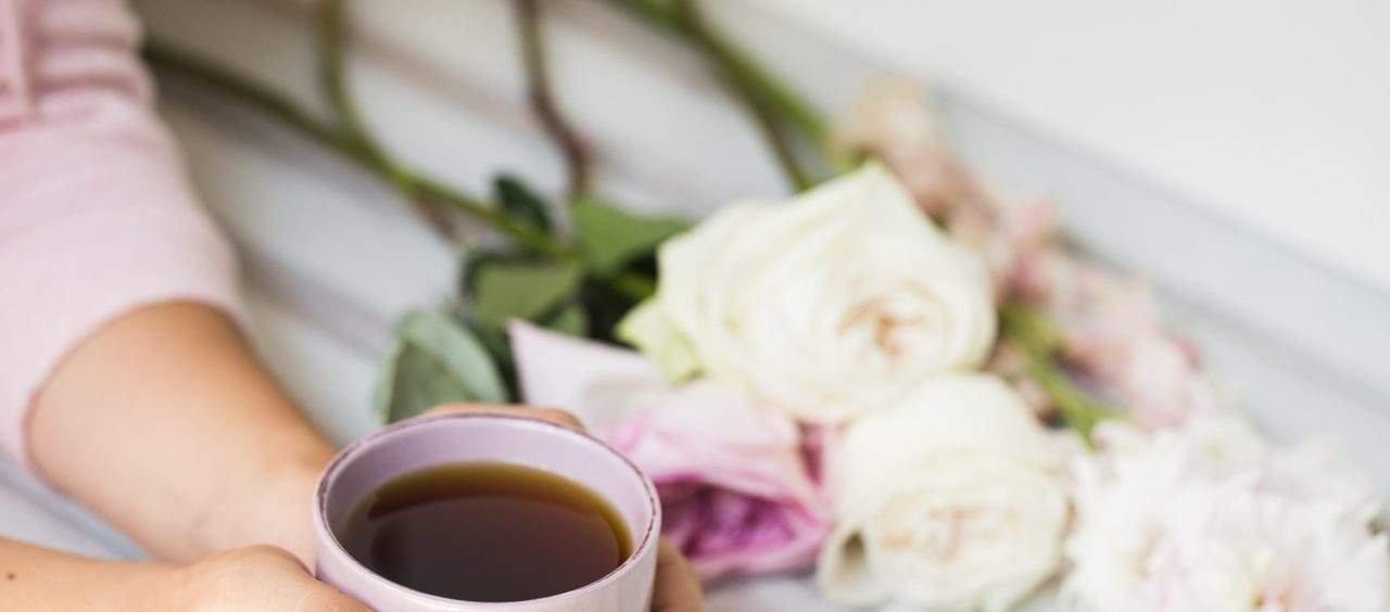 tomar chá