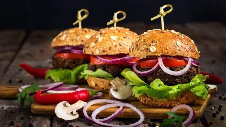 hambúrguer de planta