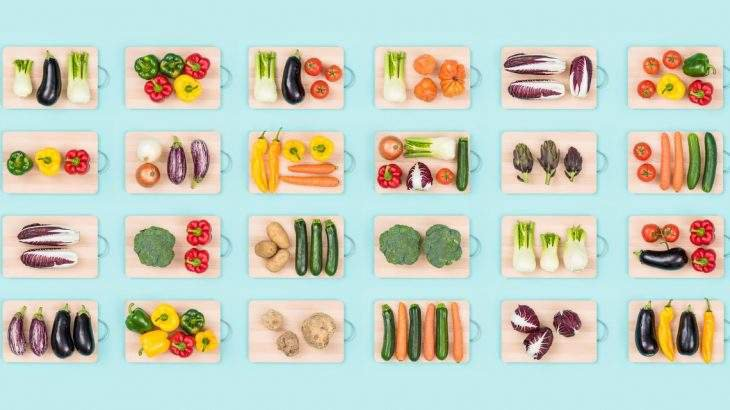 ingredientes dieta vegana