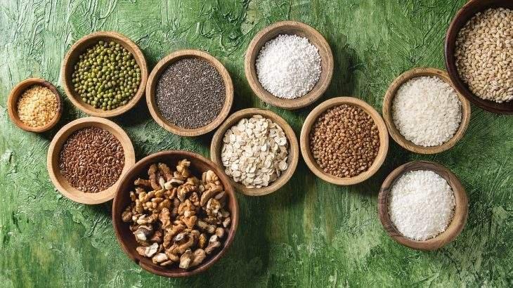 grãos ancestrais