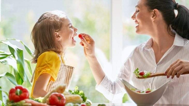 filho ter uma alimentação mais saudável