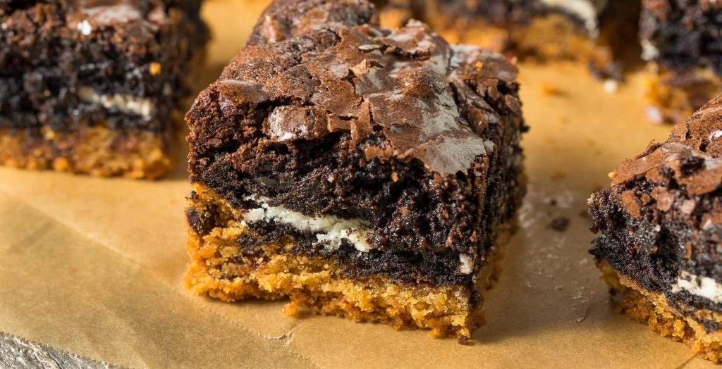receitas para fazer com as crianças brownie de coco