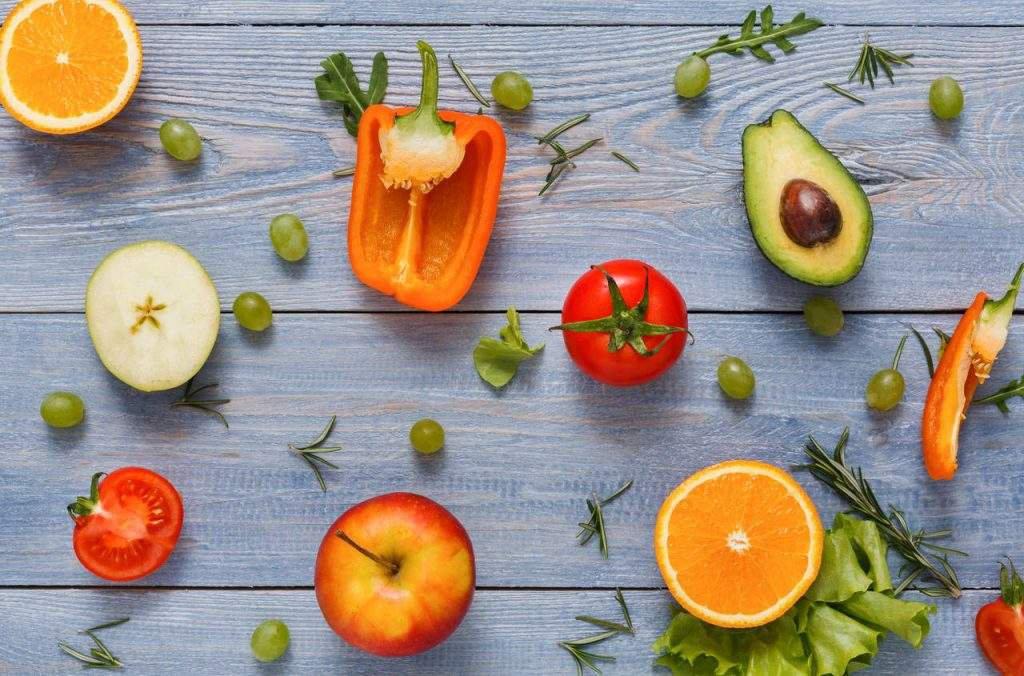 dieta rica em frutas e vegetais