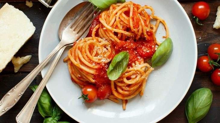 espaguete de batata doce