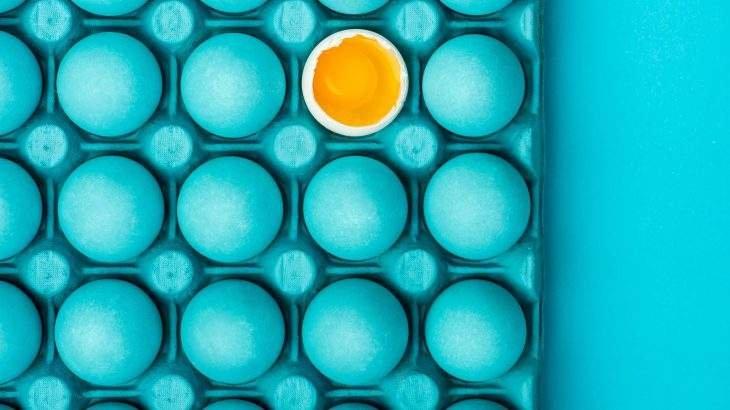 gema de ovo cabelo