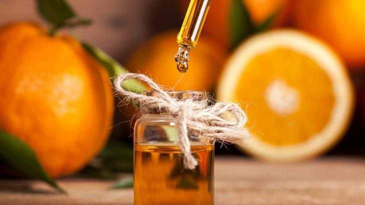 óleo de laranja