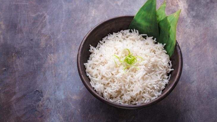 arroz branco dieta do arroz