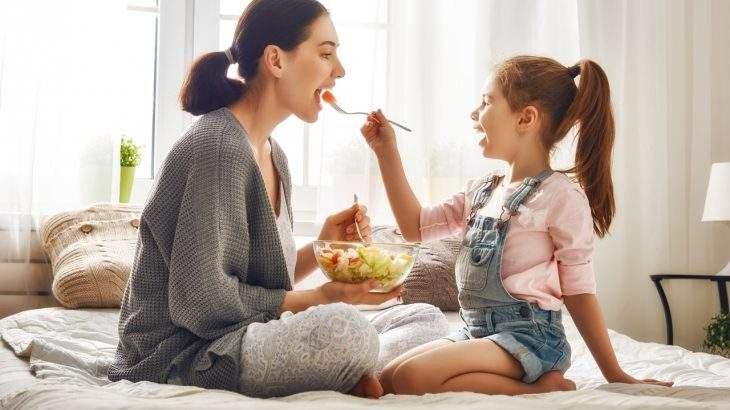 alimentação saudável para a família