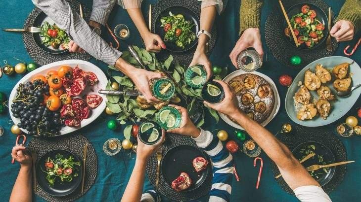 família e amigos dieta