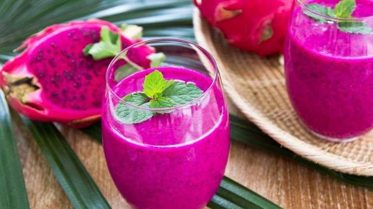 smoothie de pitaya