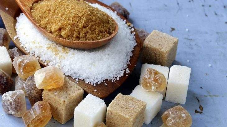 excesso de açúcar gordura