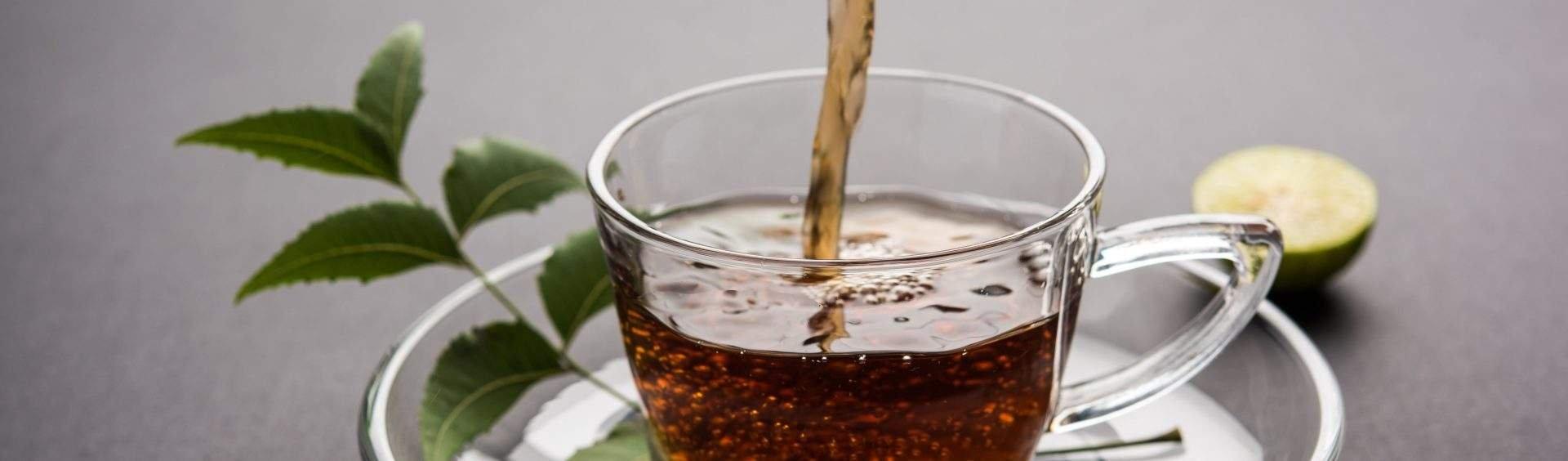 chá de agoniada