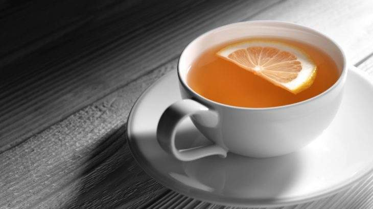 chá de inhame
