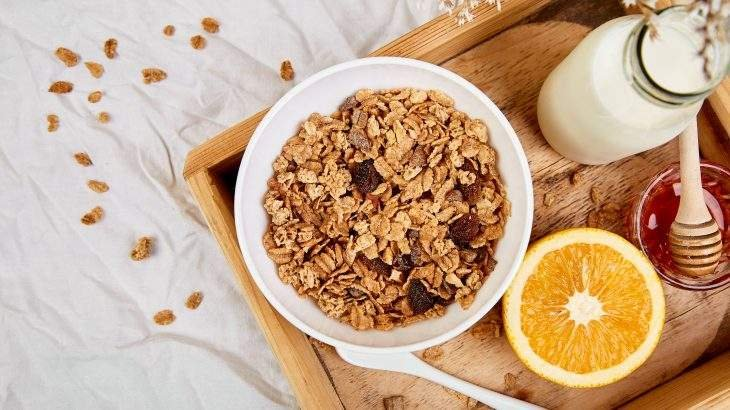 café da manhã silencioso café da manhã saudável