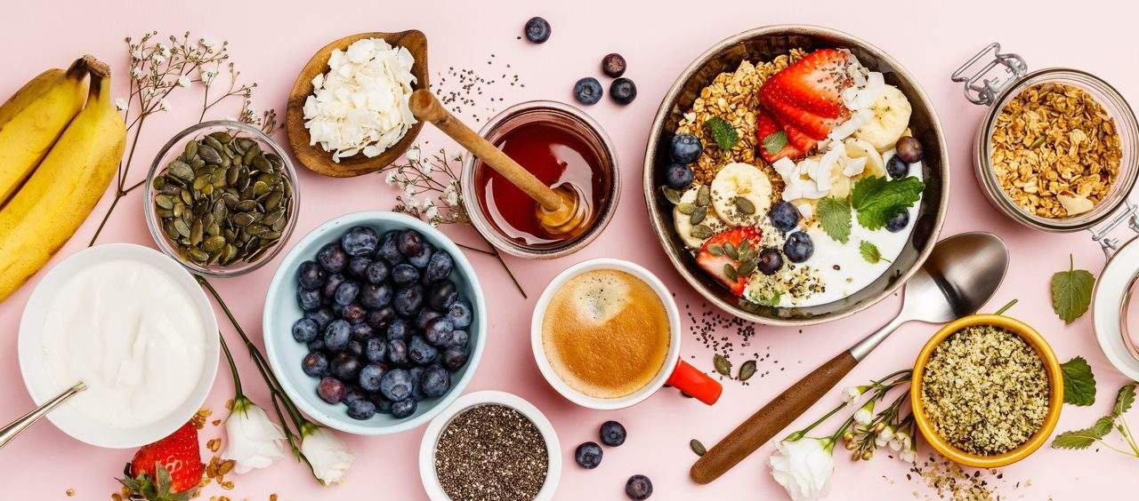 café da manhã sem pão