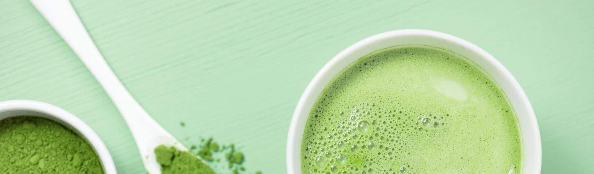 chá verde matchá