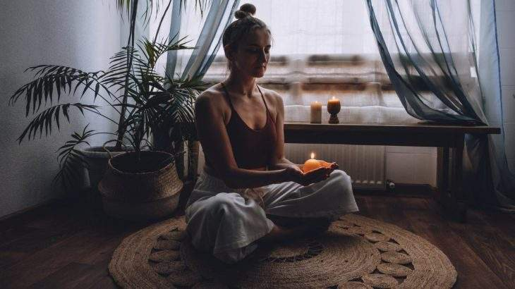 meditação da vela