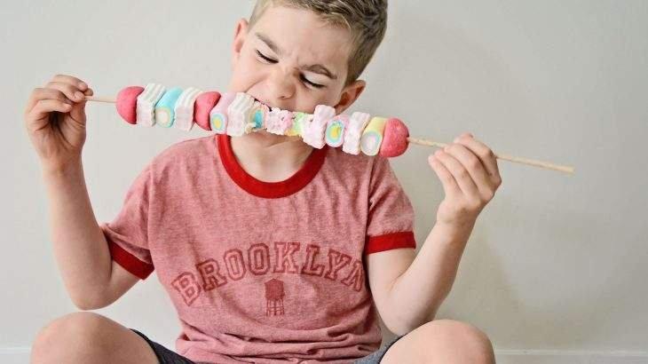 crianças podem comer açúcar