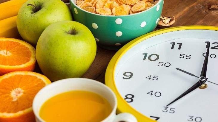 horário café da manhã