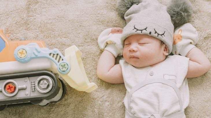 chá para cólica do bebê