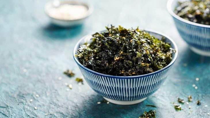 dieta das algas marinhas
