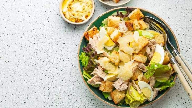 salada no frio