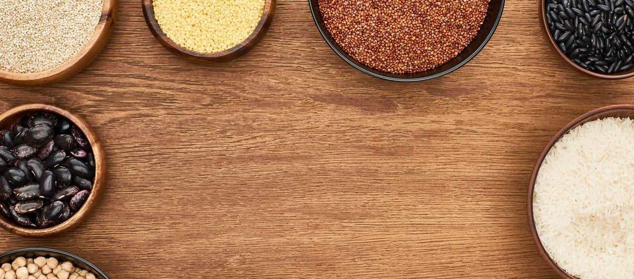 benefícios dos grãos integrais