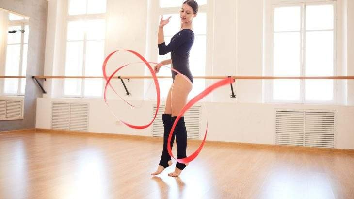 ginástica artística e rítmica