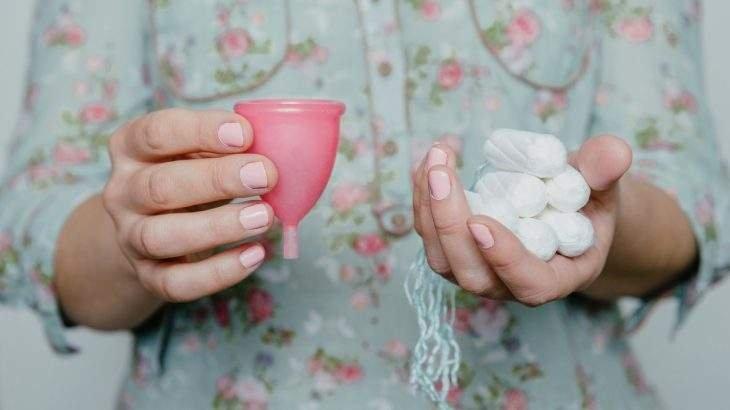 cor da menstruação