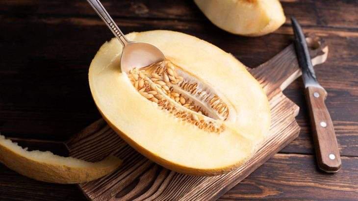 leite de semente de melão
