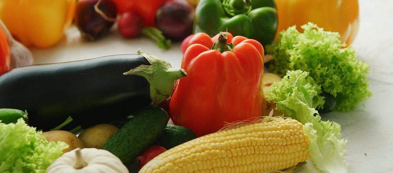 cores dos alimentos