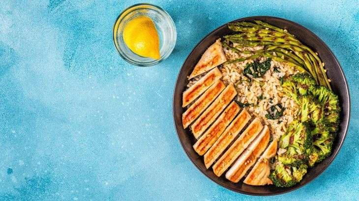 receita de arroz integral com brócolis