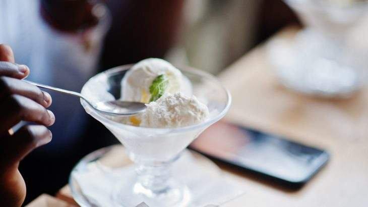 receitas de sorvete
